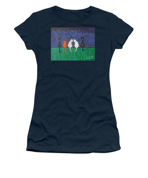Cat Tails Women's T-Shirt (Junior Cut)