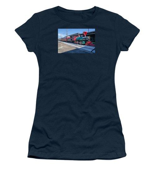 Women's T-Shirt (Junior Cut) featuring the photograph Chattanooga Choo Choo by Susan  McMenamin