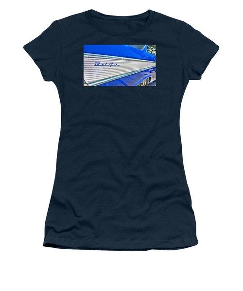 Women's T-Shirt (Junior Cut) featuring the photograph Chevy Bel Air by Jason Abando