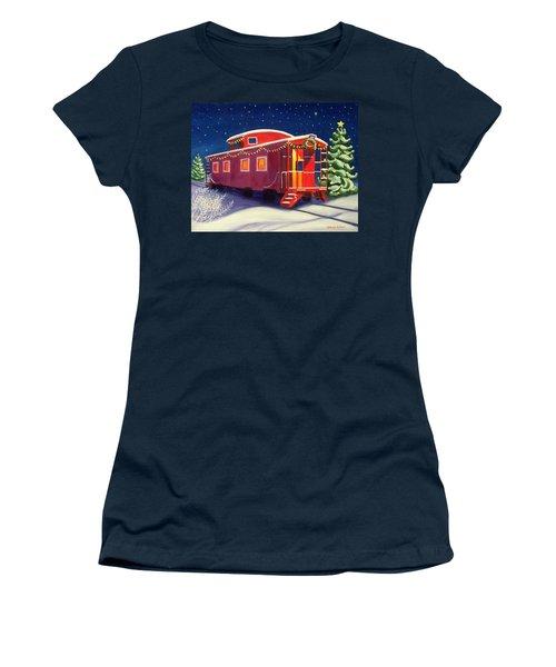 Christmas Caboose Women's T-Shirt