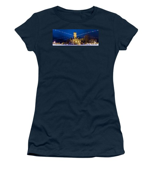Christmas On The Square Women's T-Shirt