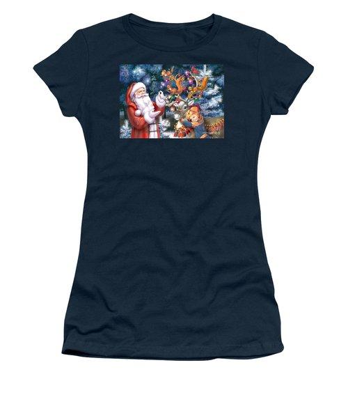Christmas Tree-rudolph Women's T-Shirt