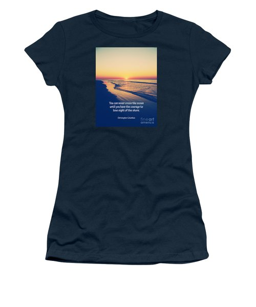 Christopher Columbus Quote Women's T-Shirt
