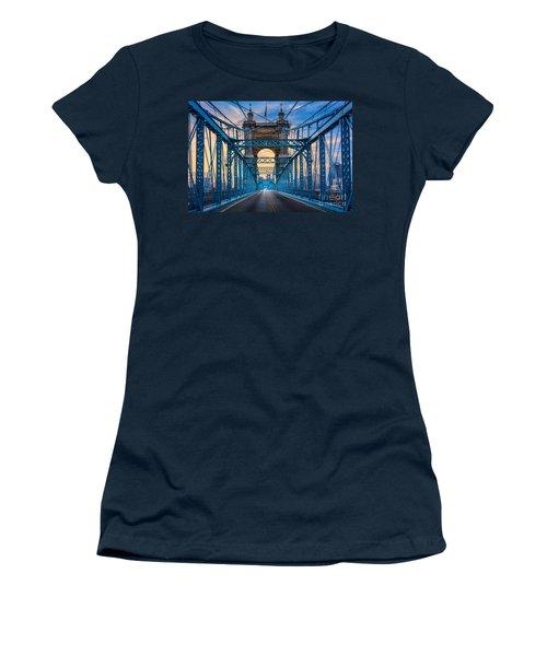 Cincinnati Suspension Bridge Women's T-Shirt