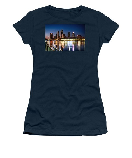 City Of Tampa Skyline  Women's T-Shirt (Junior Cut)