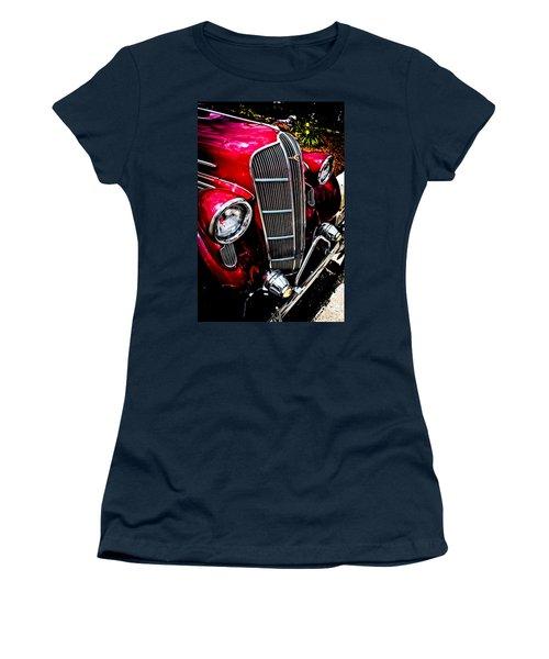 Women's T-Shirt (Junior Cut) featuring the photograph Classic Dodge Brothers Sedan by Joann Copeland-Paul