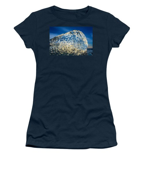 Close Up Of Ice. Ice Formations Come Women's T-Shirt
