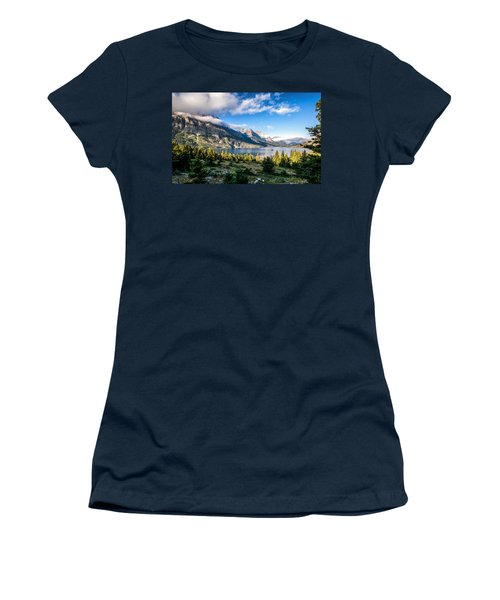 Clouds Roll In Women's T-Shirt (Athletic Fit)