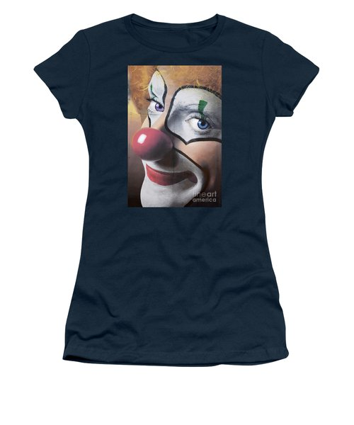 Clown Mural Women's T-Shirt (Athletic Fit)