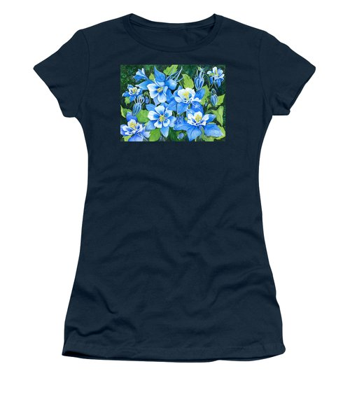 Colorado Columbines Women's T-Shirt (Athletic Fit)