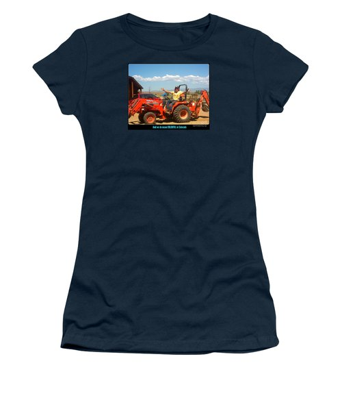 Colorful In Colorado Women's T-Shirt (Junior Cut) by Kelly Awad