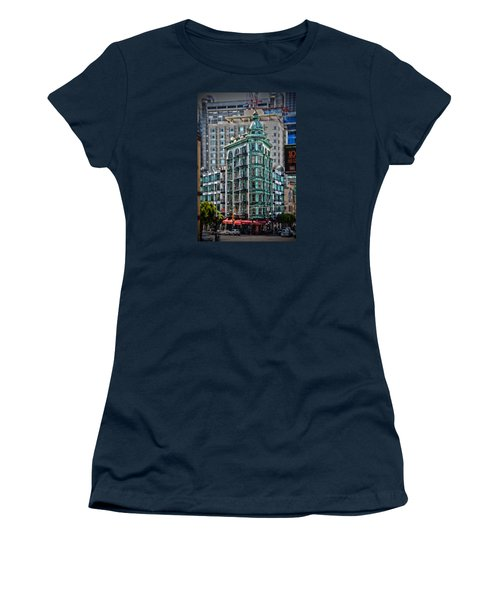 Columbus Tower In San Francisco Women's T-Shirt