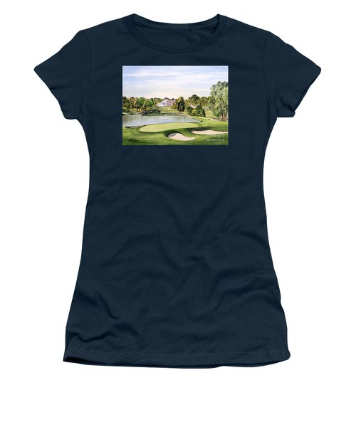 Congressional Golf Course 10th Hole Women's T-Shirt (Athletic Fit)