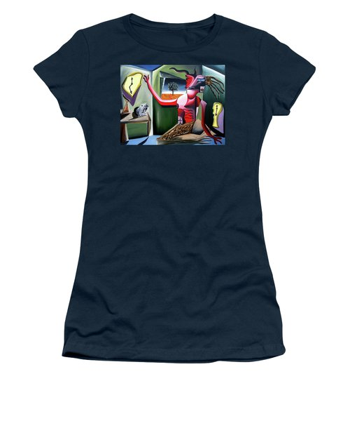 Contemplifluxuation Women's T-Shirt (Junior Cut) by Ryan Demaree