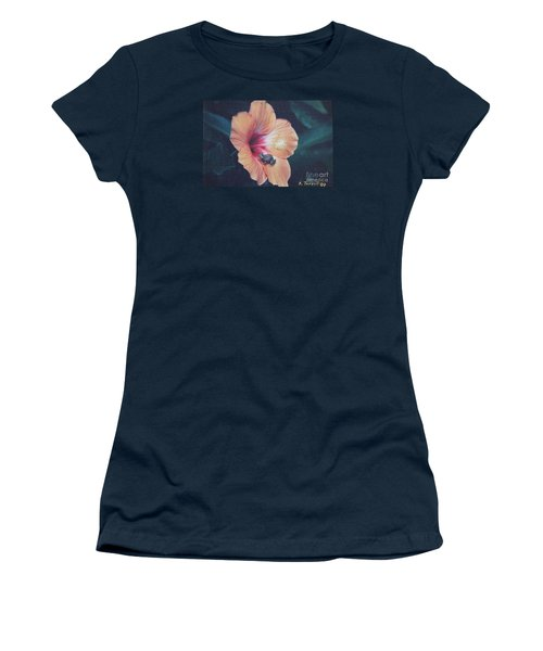 Coqui  Women's T-Shirt (Junior Cut) by The Art of Alice Terrill