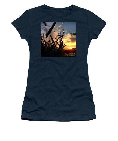 Cornfield Sundown Women's T-Shirt