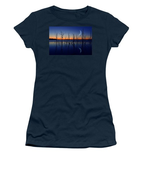 The Crescent Moon Women's T-Shirt