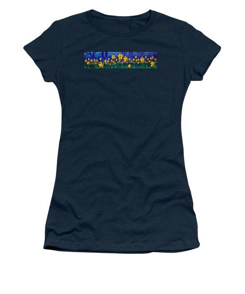 Dancing Daffodils  Women's T-Shirt