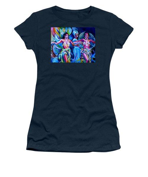 Dancing Panama Women's T-Shirt (Junior Cut) by Anna  Duyunova