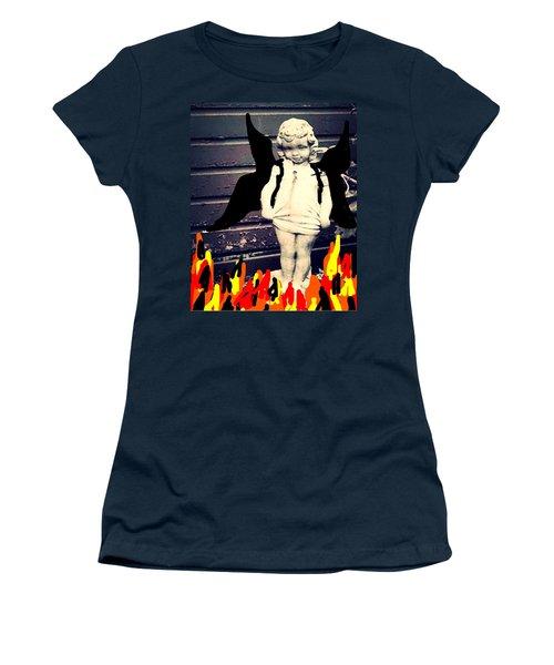 Dark Angel Women's T-Shirt (Athletic Fit)