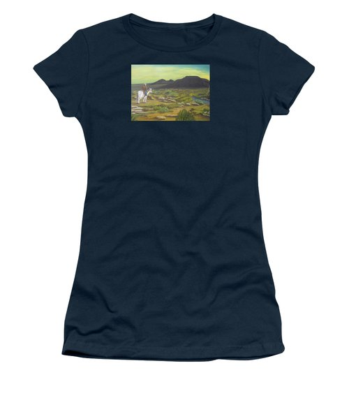 Day Is Done Women's T-Shirt (Junior Cut) by Sheri Keith