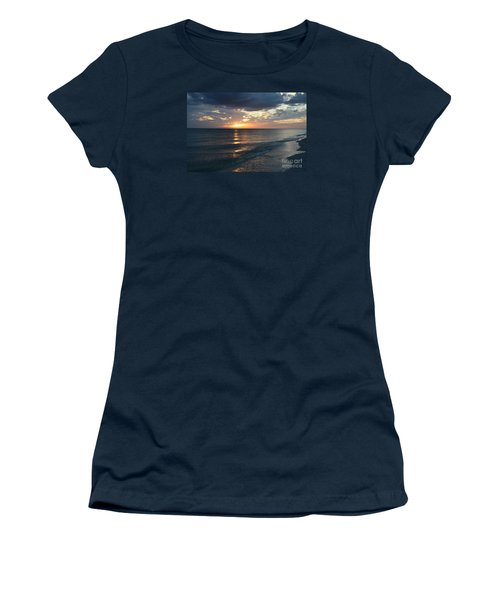 Days End Over Sanibel Island Women's T-Shirt (Athletic Fit)