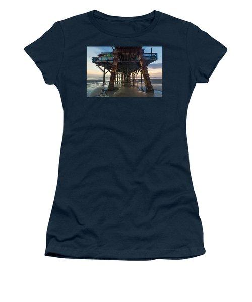 Daytona Beach Shores Pier Women's T-Shirt