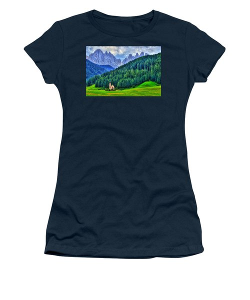 Deep In The Mountains Women's T-Shirt (Athletic Fit)