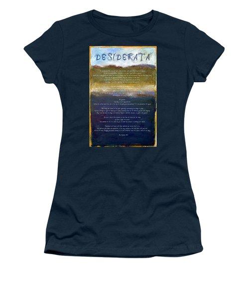 Desiderata Lll Women's T-Shirt