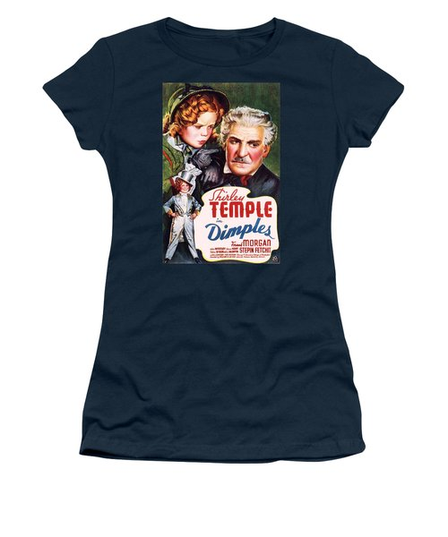 Dimples Women's T-Shirt (Junior Cut) by Movie Poster Prints