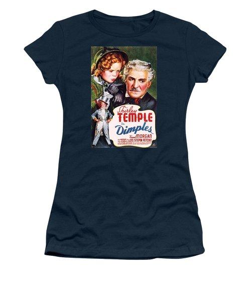 Dimples Women's T-Shirt (Athletic Fit)