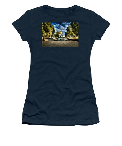 Dome Of The Rock Hdr Women's T-Shirt