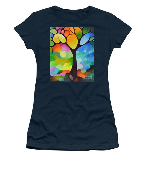Dreaming Tree Women's T-Shirt (Athletic Fit)