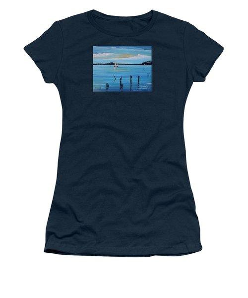 Dusk Approaching  Women's T-Shirt (Junior Cut) by Marilyn  McNish