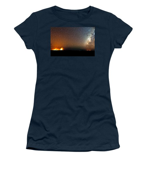 Earth And Cosmos Women's T-Shirt