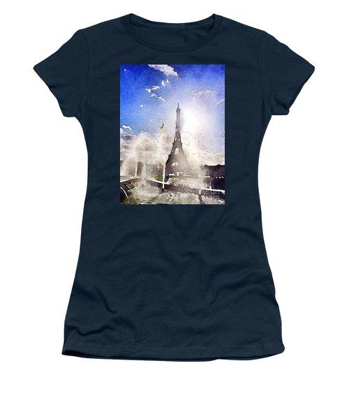 Eiffel During Summer Women's T-Shirt