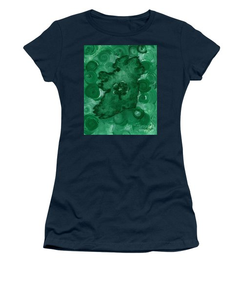 Eire Heart Of Ireland Women's T-Shirt (Athletic Fit)
