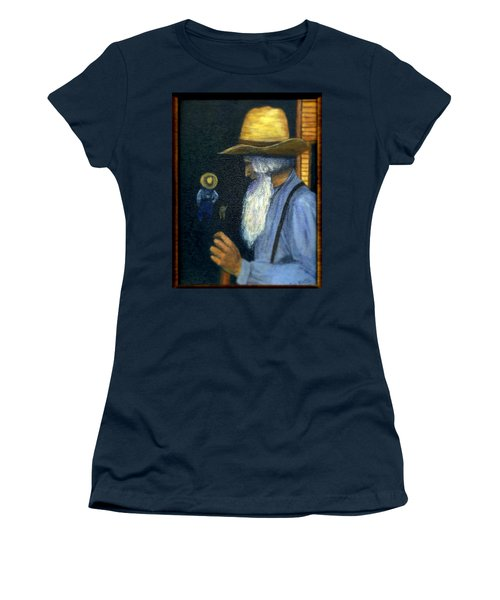 Women's T-Shirt (Junior Cut) featuring the painting Eli Remembers by Gail Kirtz