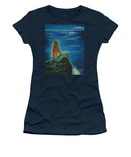 Enchanted Mermaid Beauty Women's T-Shirt (Athletic Fit)