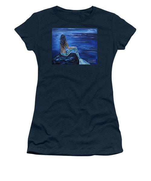 Enchanting Mermaid Women's T-Shirt (Athletic Fit)