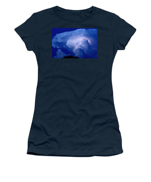 Women's T-Shirt (Junior Cut) featuring the photograph Evening Giant by Charlotte Schafer