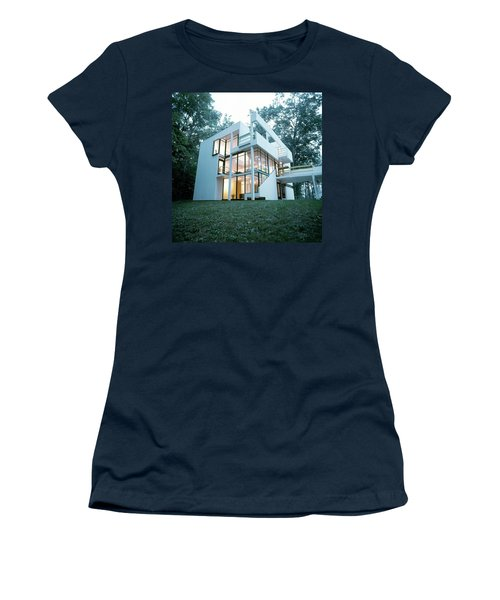 Exterior Of Mr. And Mrs. Jay Hanslemann's Women's T-Shirt