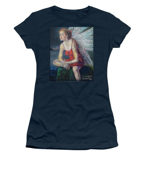 Fairy On A Stone Women's T-Shirt