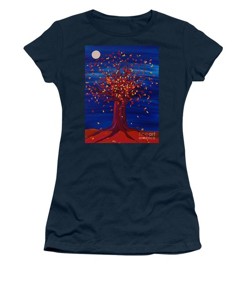 Fall Tree Fantasy By Jrr Women's T-Shirt (Athletic Fit)