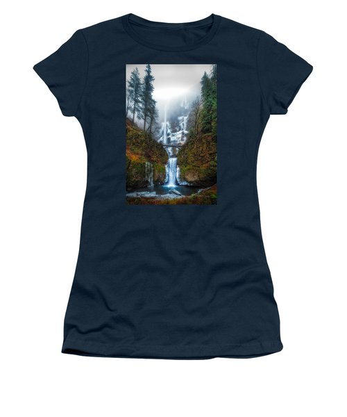 Falls Of Heaven Women's T-Shirt (Athletic Fit)