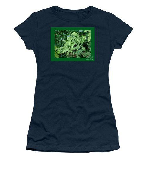 Ferns-iii Women's T-Shirt (Athletic Fit)