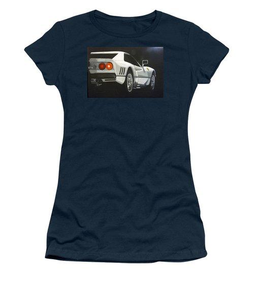 Ferrari 288 Gto Women's T-Shirt (Athletic Fit)