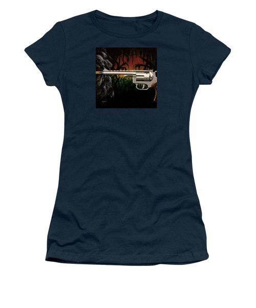 Fire In The Jungle Women's T-Shirt (Junior Cut) by Jack Malloch