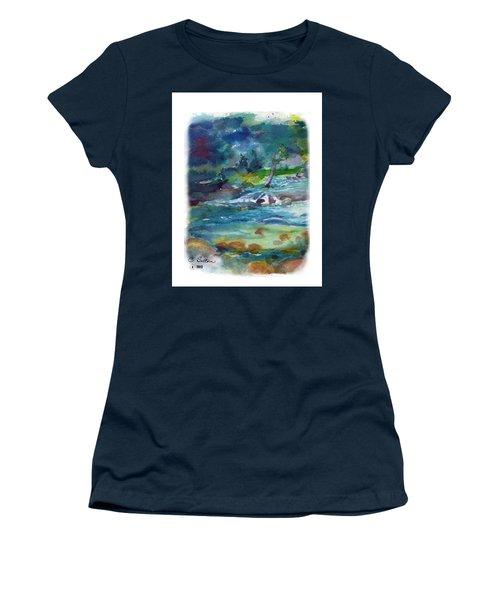 Fishin' Hole 2 Women's T-Shirt