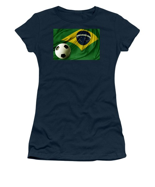 Flag And Ball Women's T-Shirt